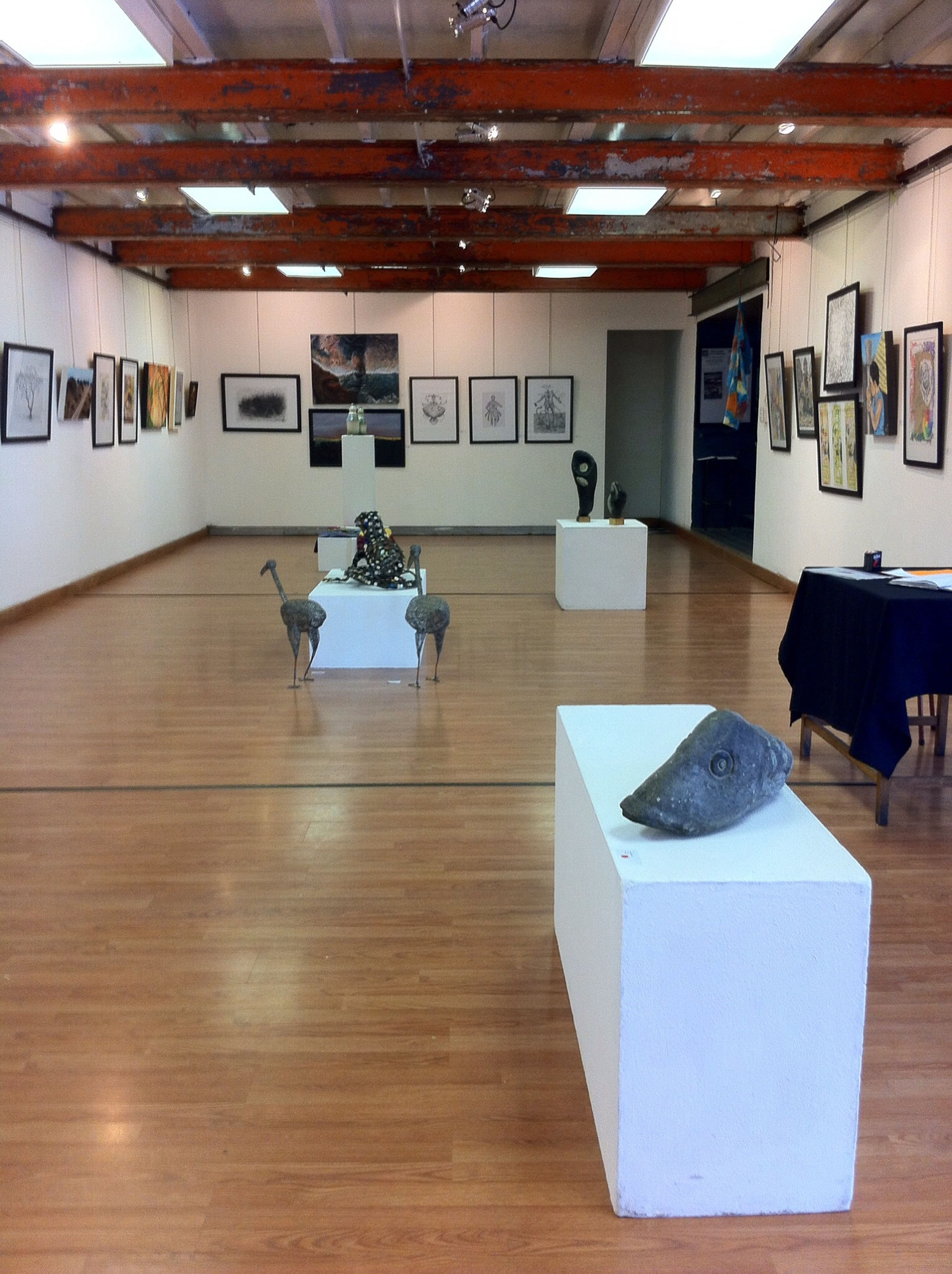 Namibian artist exposition at the craft center in Windhoek Art Artist Namibia