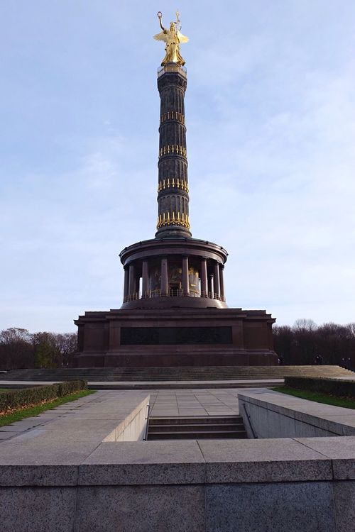 Siegessäule  Germany Berlin Sightseeing Exchange Student Traveling Capture Berlin