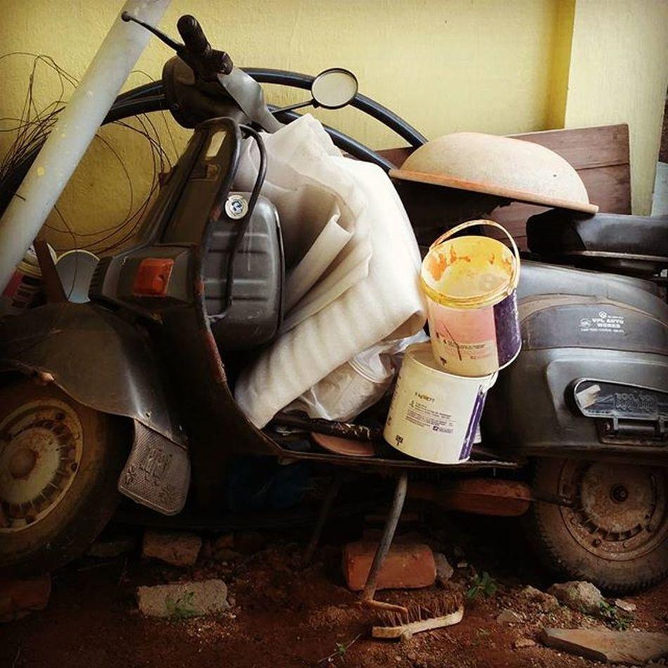 Bajaj Old Scooter