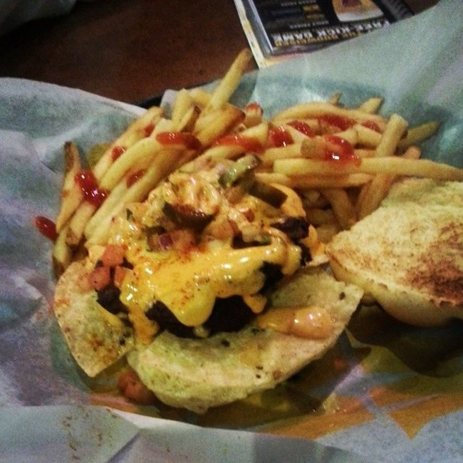 Dont mind me just the usual please Bdubs BuffaloWildWings Nachoburger
