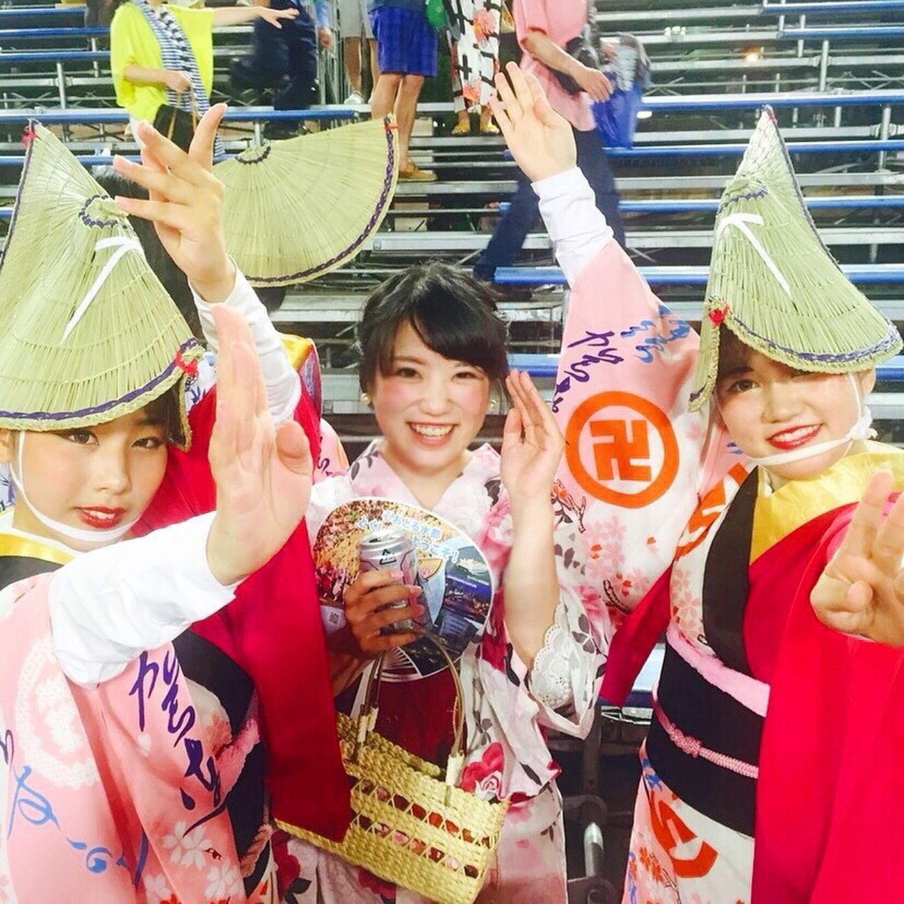 Soooo exiting 💖 Awa dance 2015 お盆 阿波踊り Awadance Tokushima_Japan Dance Japan Culture Summer Exiting Power