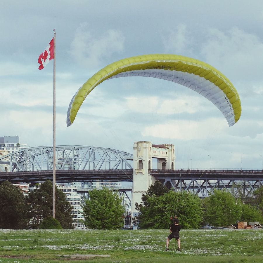 Check This Out Vancouver Vanier Park Wind Parasailing Kitesurfing