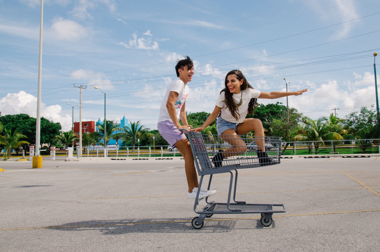 Beautiful stock photos of mexico, 20-24 Years, Bonding, Car, Casual Clothing