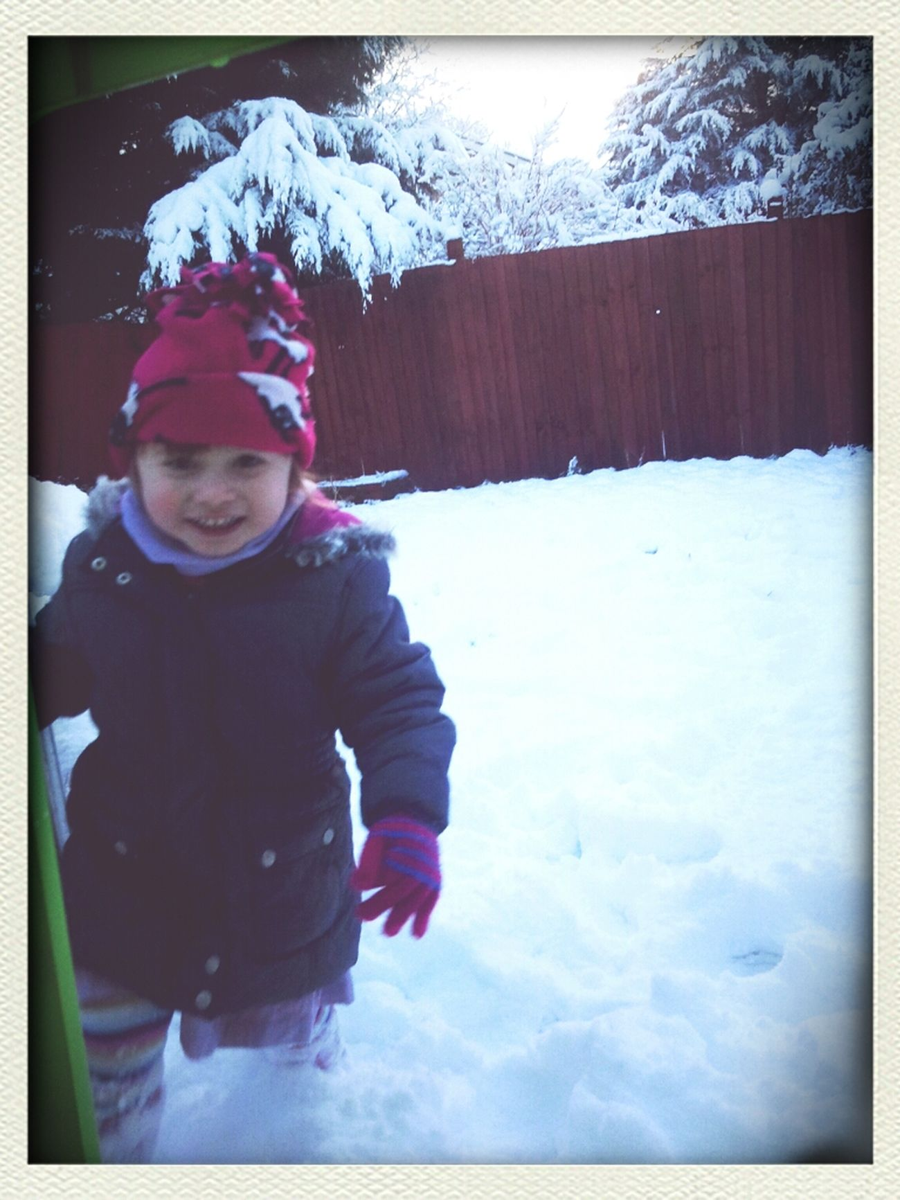 Playing In The Snow Yay