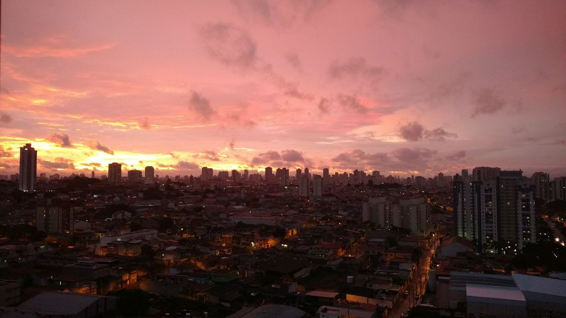 Sunset And Clouds  Sao Paulo - Brazil