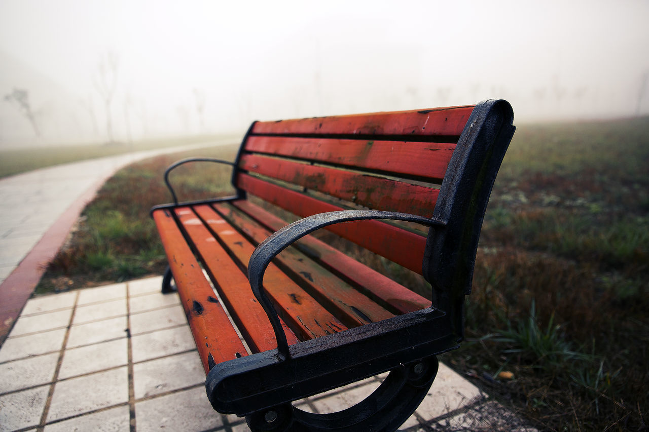 Art And Craft Bench Day FirstTime Lightroom Trying Fog From My Point Of View Light And Shadow Nature No People No People Outdoors Outdoors Park Chair Quiet Moments Scenery Sichuan Province