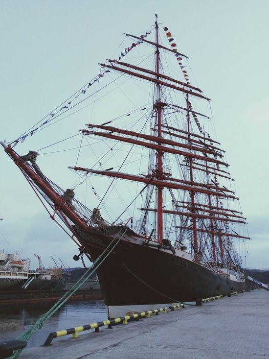 Sailing Ship Sedov in Murmansk, Russia | Парусник Седов в Мурманске | Sailing Going Sailing Sailing Boat Sailfish Ship Boats Getting Inspired