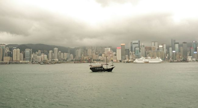 Hong Kong Hong Kong Harbour Hong Kong City Hong Kong Victoria Harbour Hong Kong Skyscraper Hong Kong Architecture Sky And City Ship Centre Cloudy Skies Evening Sky Dull Heavy Loney Inspirations Eyeem Market EyeEm Best Edits EyeEm Gallery Changing On The Way Sky And Clouds Sky And Sea