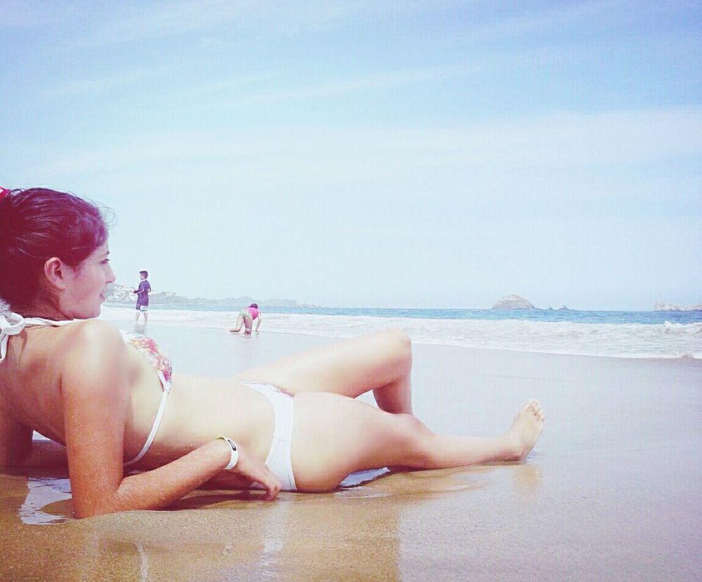 Summer #beach Sun Burn Ocean View Nice Place #inlove??