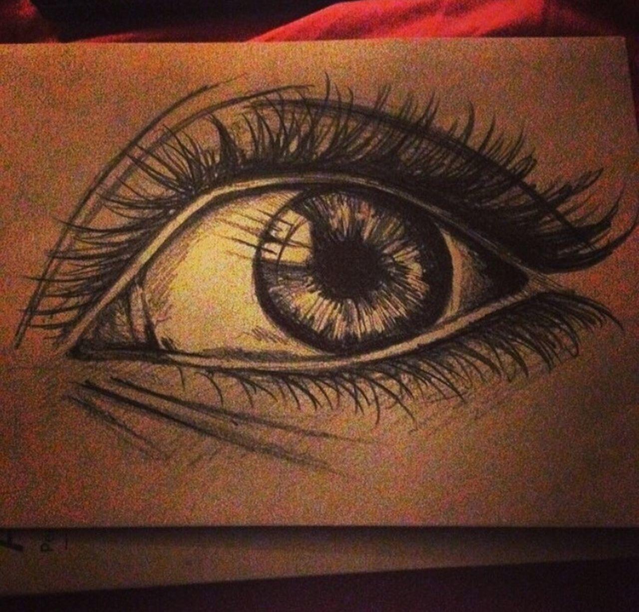Art Is Everywhere Eye Eye Drawing GraphitePencil