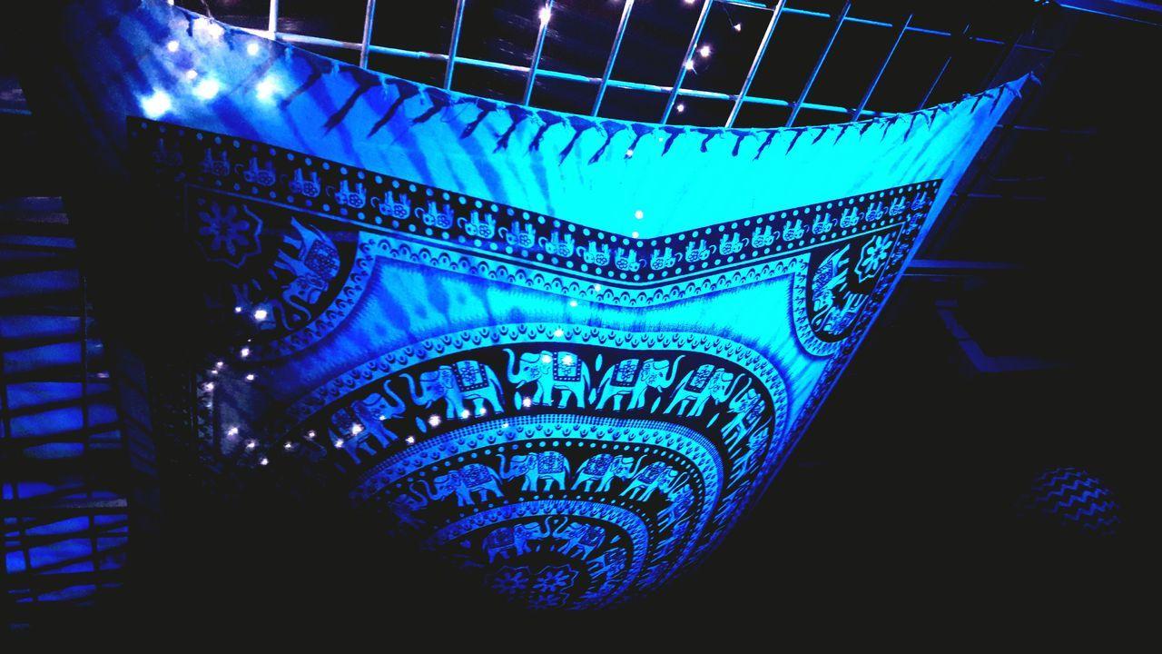 Blue Night No People Indoors  Place Of Worship Architecture Close-up Dark Blue Jaidukamá