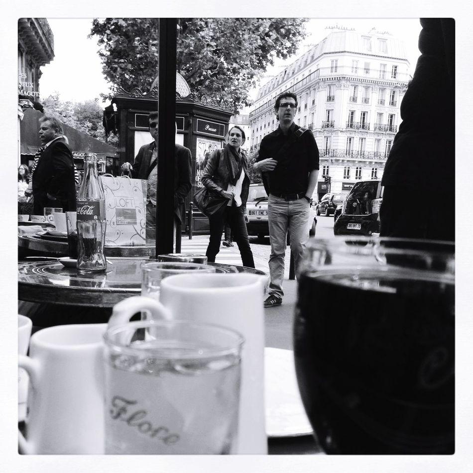 Tale of Two Cafes Paris France Paris Saint Germain Coffee Travel
