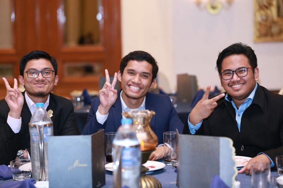EyeEmNewHere Smiling Men Sitting Cheerful Businessman Business Adults Only Occupation Happiness Indoors  Friendship First Eyeem Photo Colleague Adult Drinking Glass People Business Person Only Men Togetherness Large Group Of People