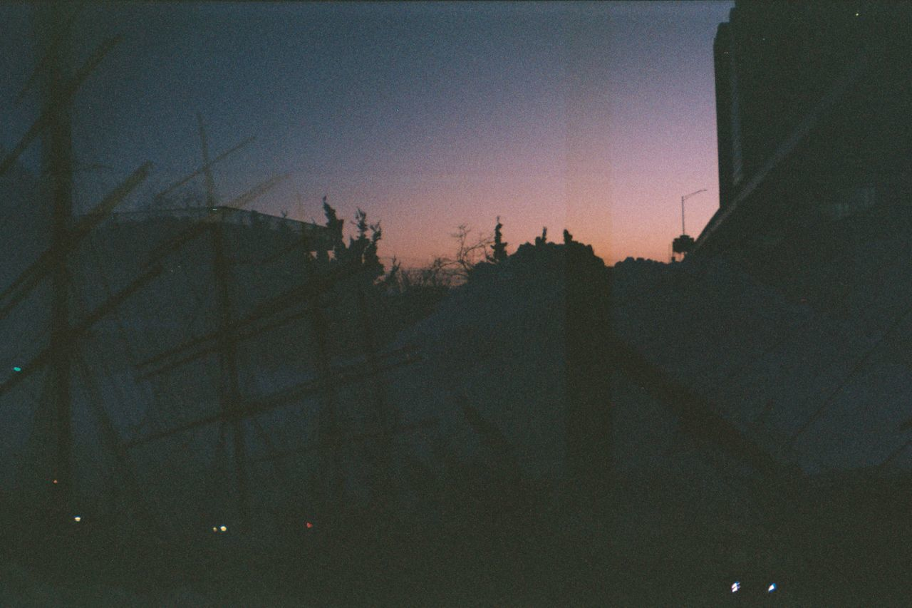 No People Imperfectly Perfect Film Photography Nature_collection Multiple Exposures Multiple Layers Ship Masts Sunset_collection Sillouette Horizons Unedited South Street Seaport Analogue Photography Adapted To The City