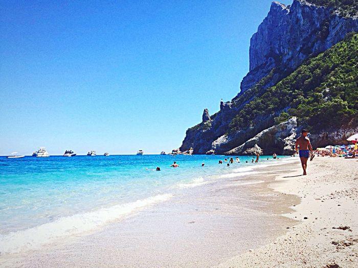 Paradise First Eyeem Photo Myland  #Sardegna Land Sea Beach