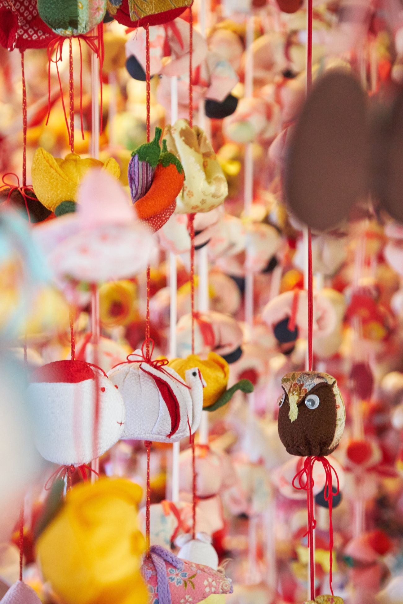 Hanging Focus On Foreground Variation No People Close-up Large Group Of Objects Multi Colored Choice Wind Chime Day Outdoors Astrology Sign Colors Japan Culture Eye4photography  EyeEm Best Shots Colorful Colour Of Life Close Up