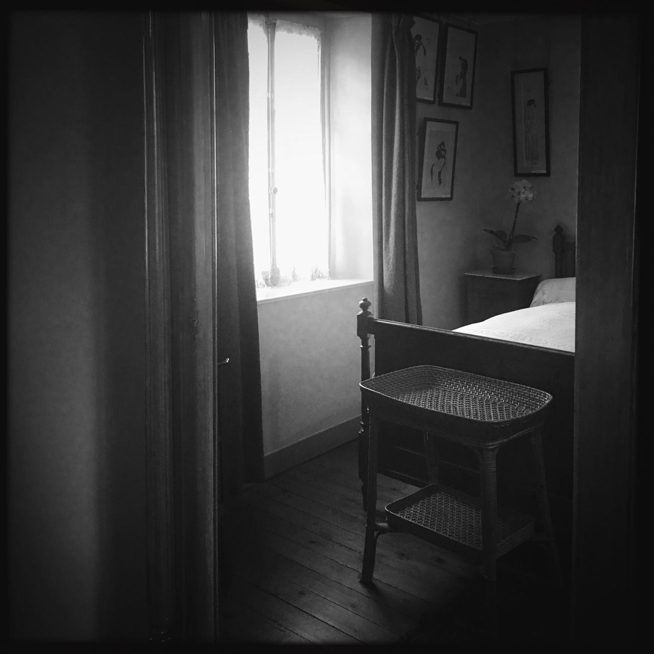 Monet House Blackandwhite Black & White Blackandwhite Photography Monochrome Hipstamatic Country House France Window Monet Giverny, France. EyeEm Best Shots