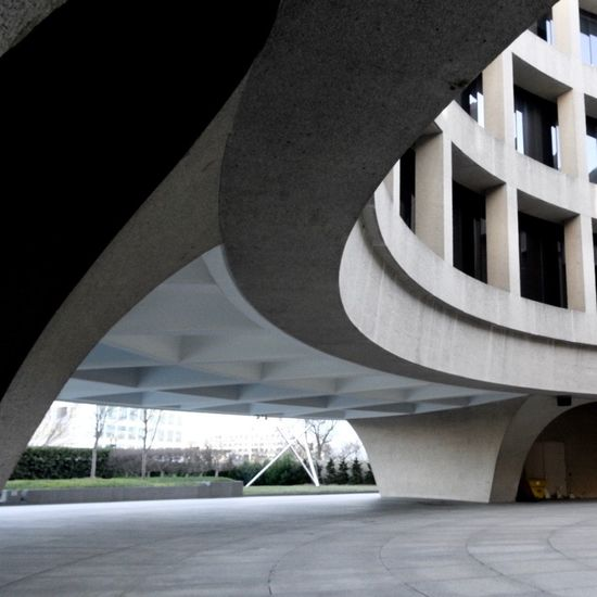 Architecture DC Hirshhorn  Museum Smithsonian Washington, D. C.