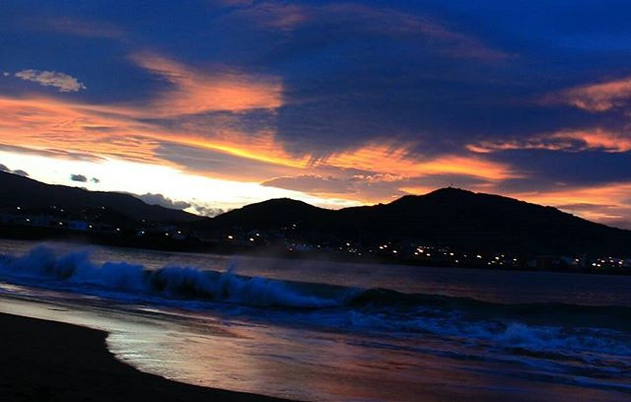 Playa de Ereaga, Getxo. Foto sin filtros Sunset Photo_beaches Photosunsets_nat Bilbosoulchallenge Lagildadelnorte Euskadi Euskogram Euskorincones Euskadigrafias Verybilbao Bilbosoul Loves_euskadi Total_night Total_euskadi Be_one_night Turismo_euskadi Naturaleza_euskadi Instantes_fotograficos Landscape View Webstagram Tagsforlikes Photooftheday Picoftheday All_shots like4like instagood estaes_paisvasco real_globo insta_getxo