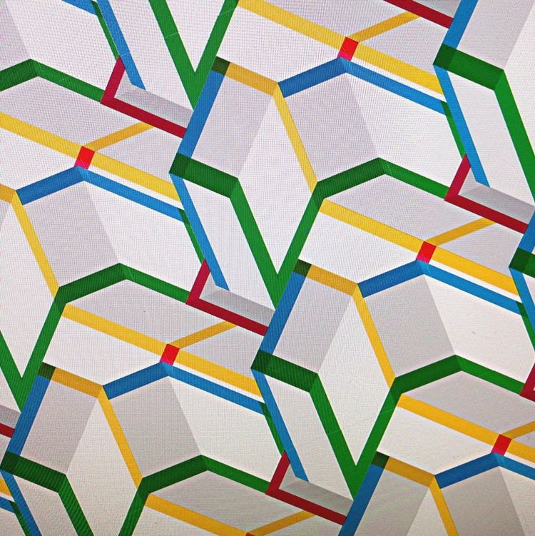 Pattern Graphic Abstract Objects Colors Repitition
