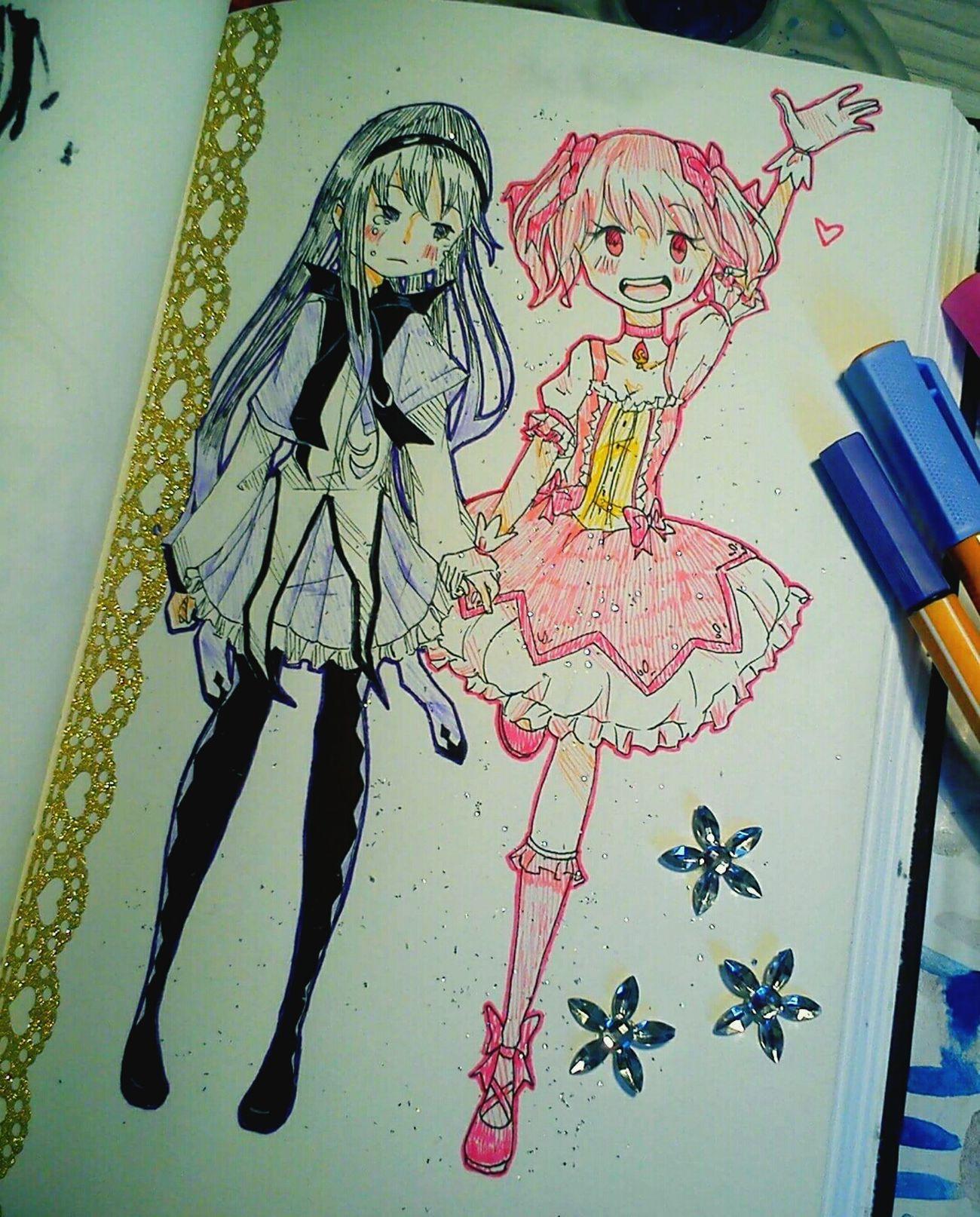 My Draw ♥ Mój piękny zeszyt :3