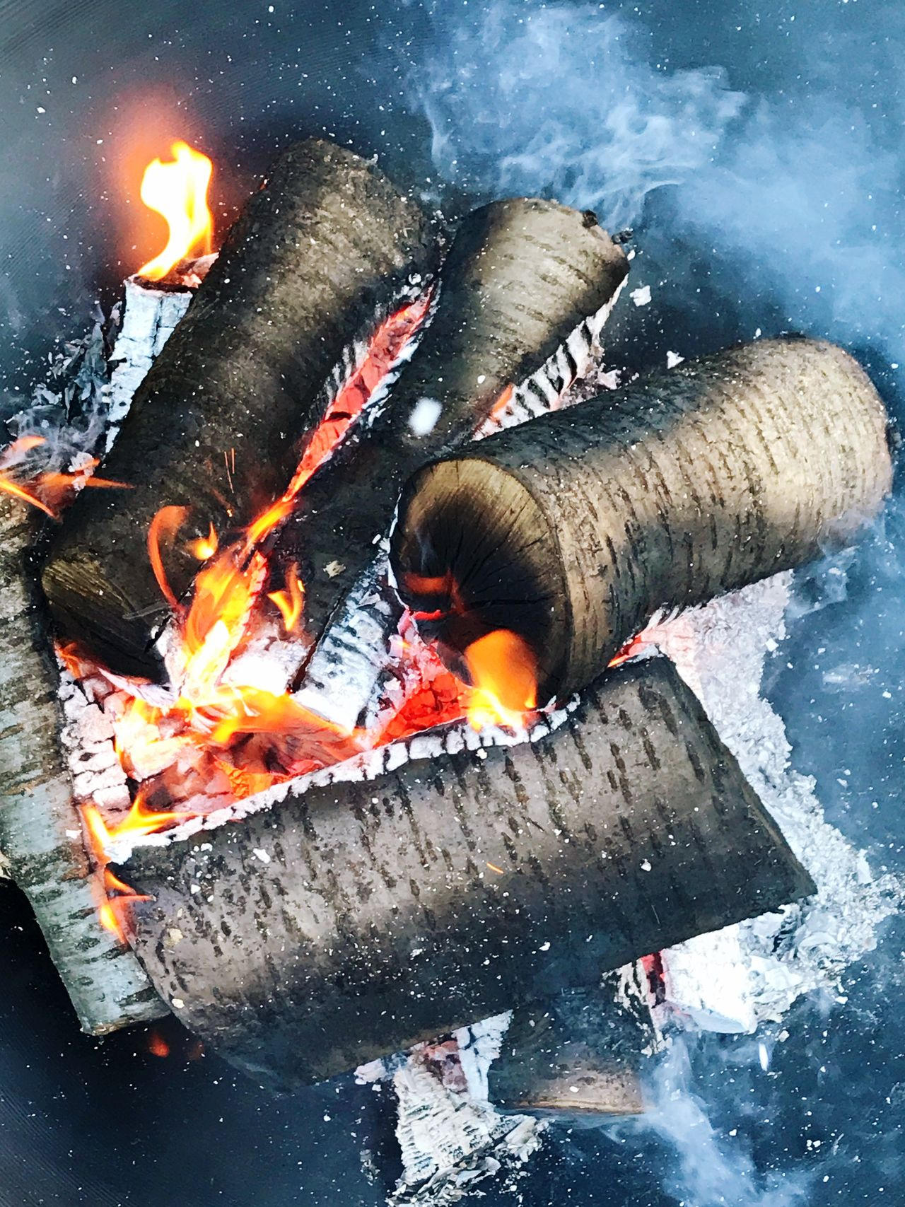 Heat - Temperature Flame Burning Outdoors Motion Water No People Day Close-up Food