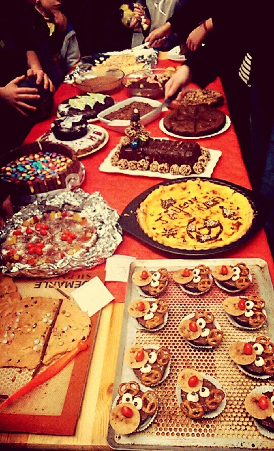 Merry Chrismas ! Noël a la vitréenne ⛄ Birthday And Chrismas Cake