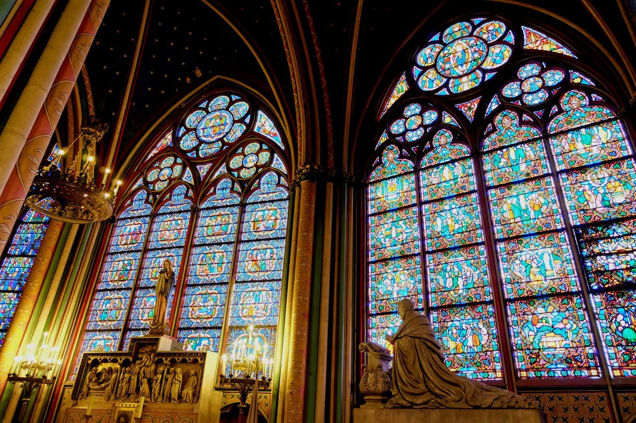 Architecture Cathedral Cathedrale Notre Dame Notre Dame Cathedral Notre Dame Cathedral Paris Notre Dame De Paris Notre-Dame Place Of Worship Religion Spirituality Stained Glass Stained Glass Stained Glass Art Stained Glass Window Window