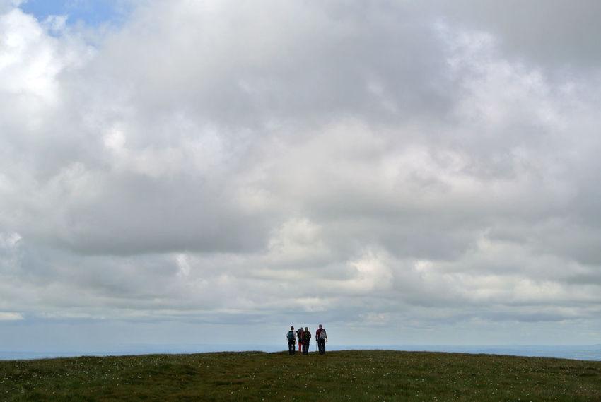 Cloud Cloud - Sky Hilltop Outdoors Walkers