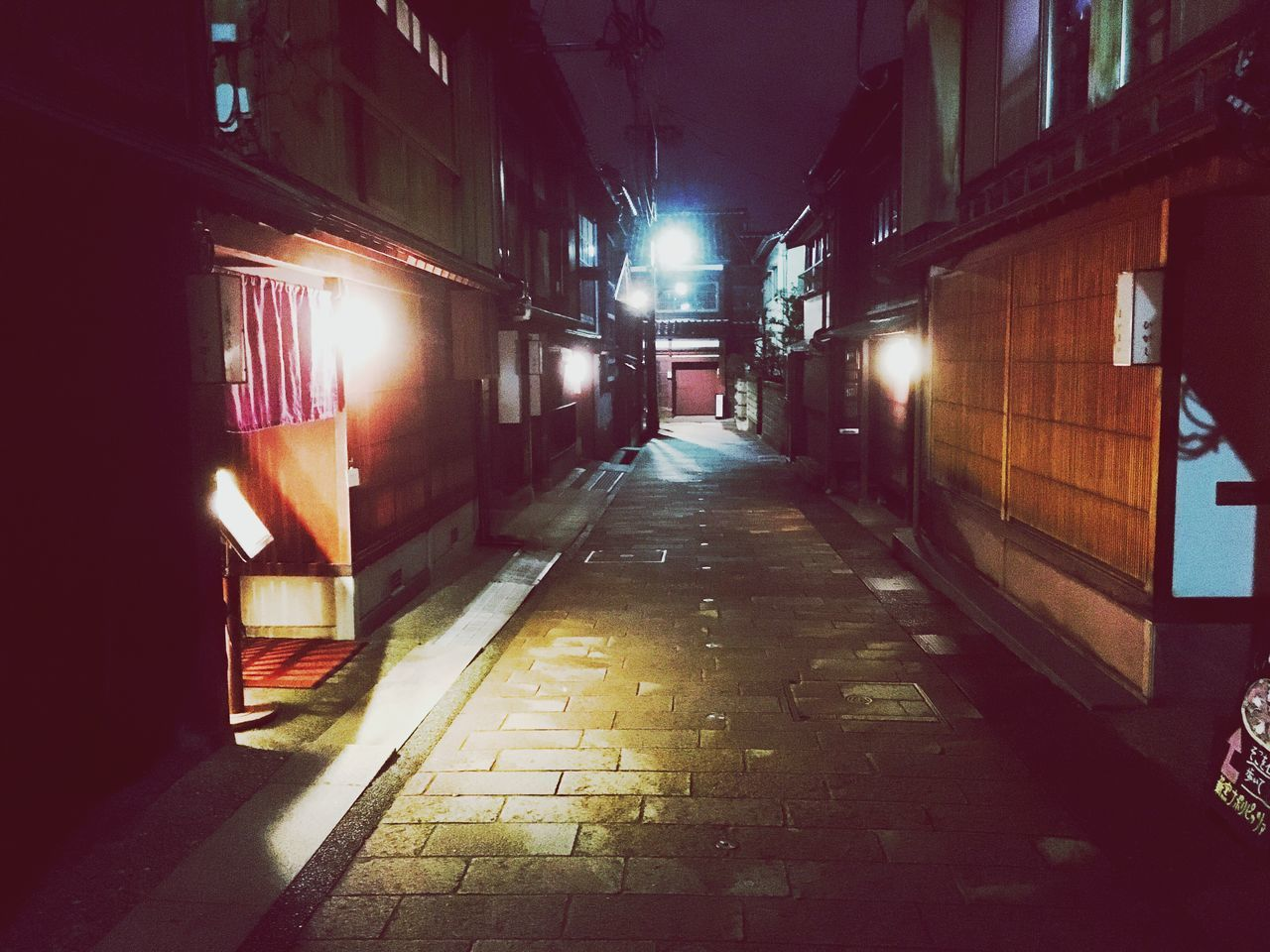 Illuminated Night Architecture Built Structure Kanazawa,japan Higashichayagai The City Light
