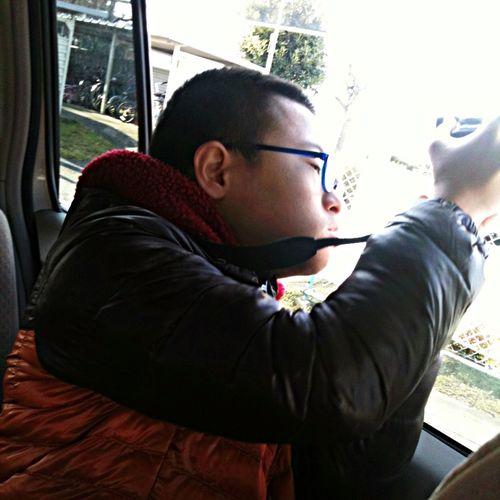 Akiphoto My Son,AKI,taking photo. IPhoneography Enjoying Life ^_^