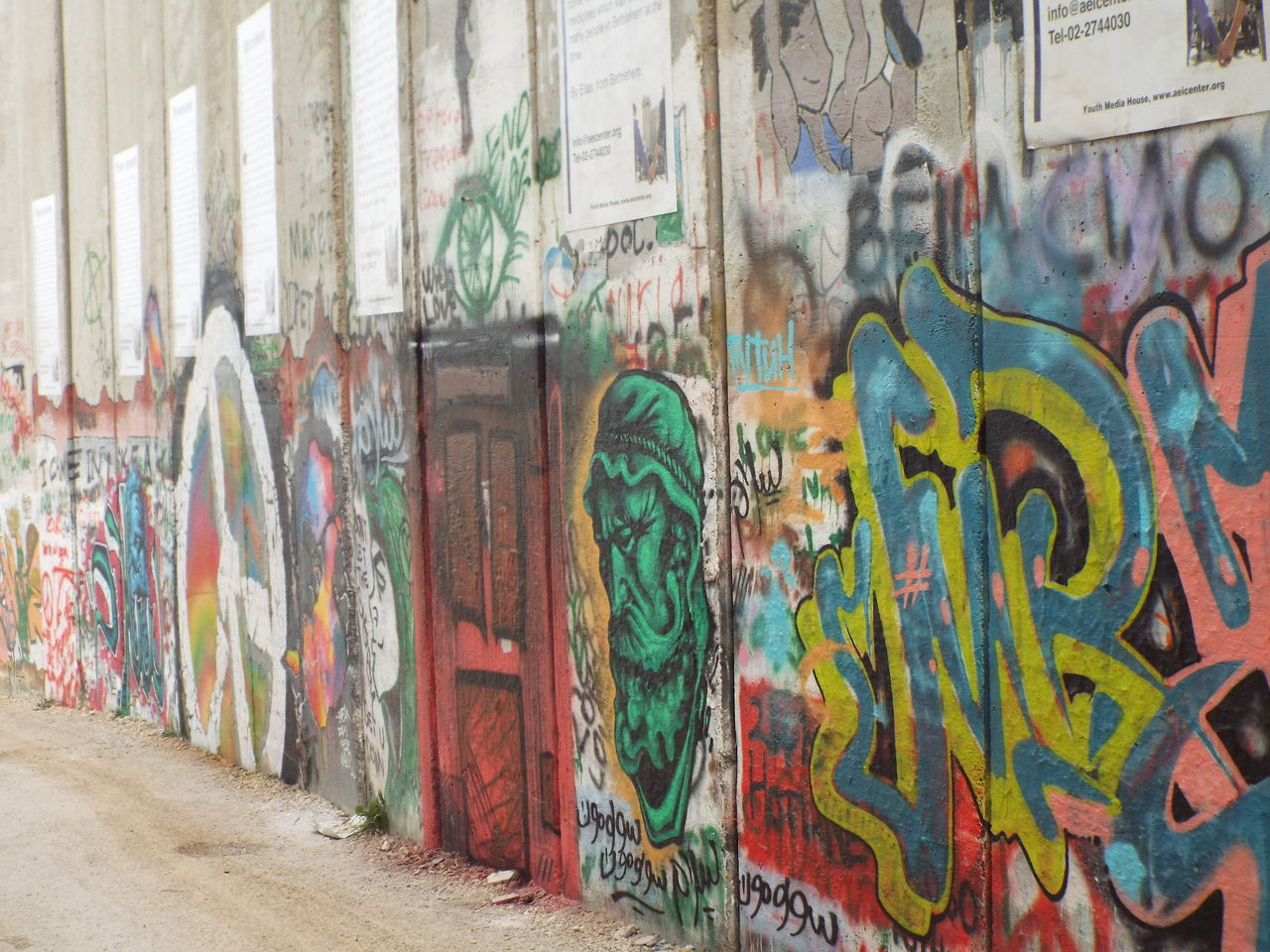 Image captured at the dividing wall between Palestine and Israel in Bethlehem Bethlehem Centenary  Concrete Divide Dividing Wall Graffiti Israel Middle East Palestine Palestine Side Of The Wall Political Political Street Art Security Seperation Spray Paint Tagging Tension Thought Provoking  Wall
