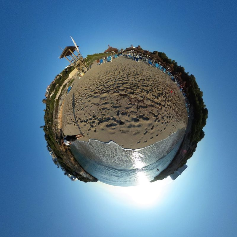 Day Outdoors Miniplanes MiniPlants Miniplanet Miniplanete RICOH THETA Ricoh Theta S Beach Beachphotography Beach Photography Beach Life Beachlife Beach Day Beach Time Water No People Blue