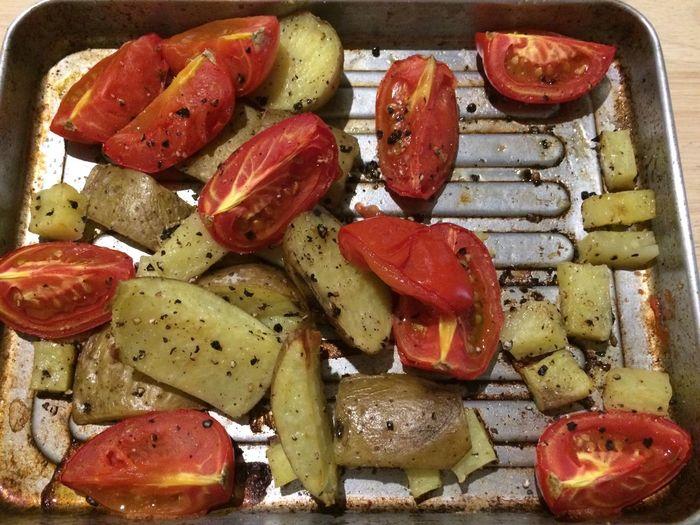 Food Potato Tomato