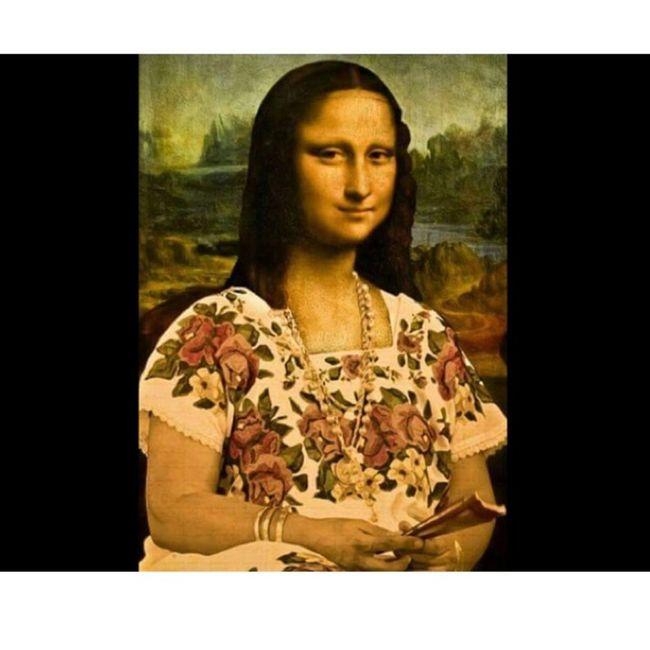 Mona Lisa Style Monalisa Enjoying Life Style Perfect