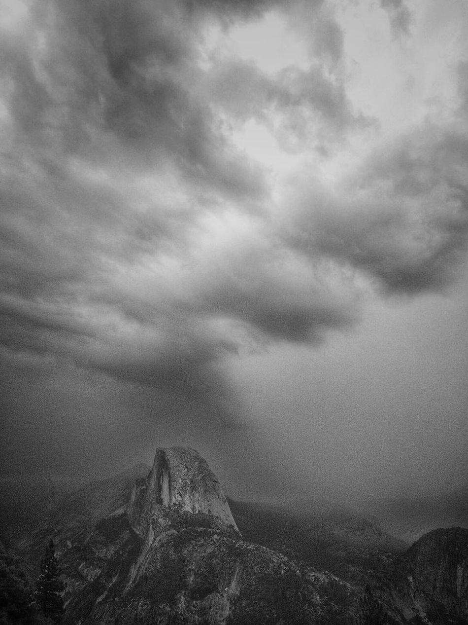 IPSSky Stormy Weather Yosemite Yosemite National Park