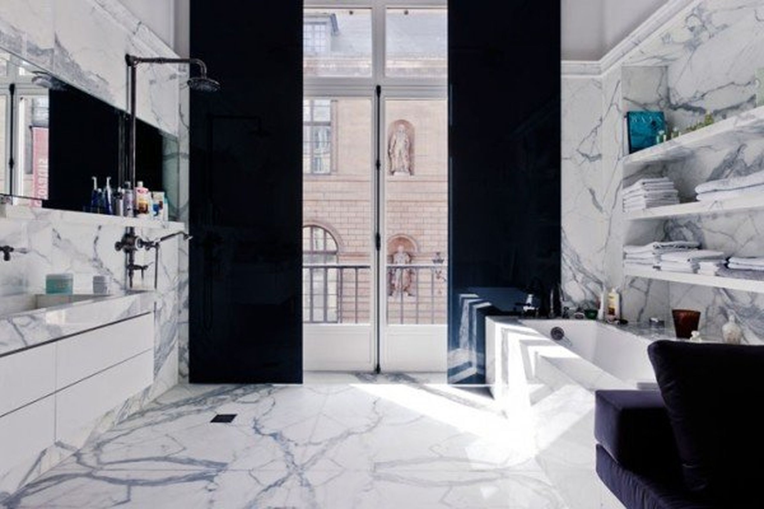 architecture, indoors, built structure, window, building exterior, door, empty, building, absence, corridor, sunlight, interior, flooring, house, day, glass - material, tiled floor, reflection, no people, residential building