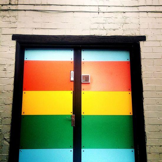 S73 Super73 Studio Doors Rainbow Tomorrow, recording New material behind these doors. 😃