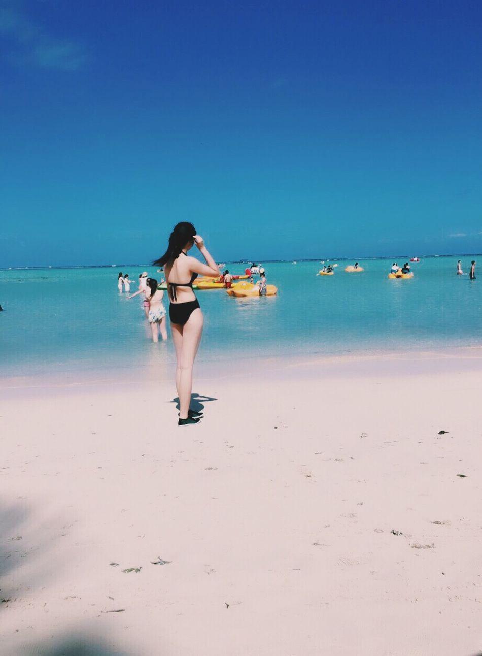 Beach Traveling In Guam Enjoying Life Taking Photos
