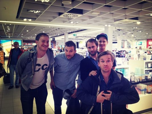 the boys at Berlin-Schönefeld Airport (SXF) by Flo Meissner