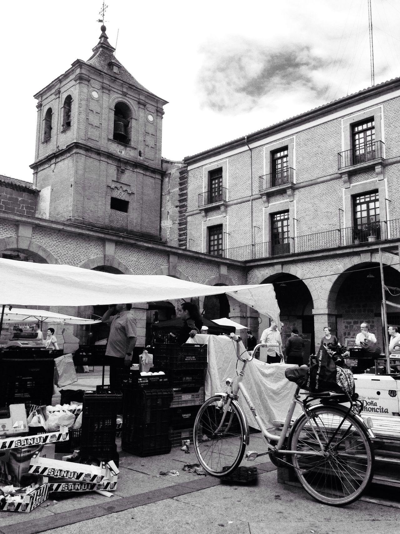 Día de mercado Flaneur Streetphoto_bw Black & White