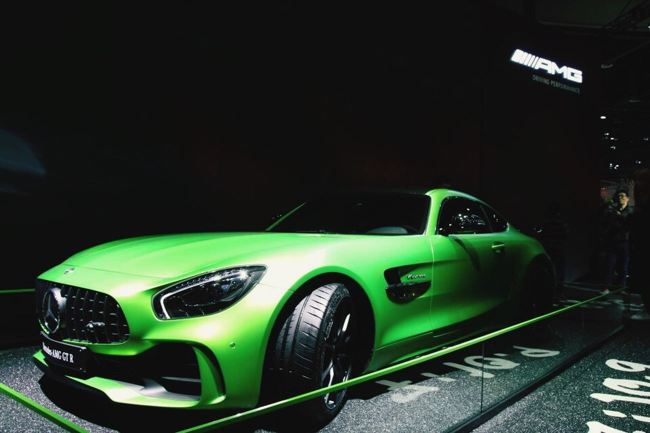 AMG Car Mercedes KINTEX Moter Show GTR