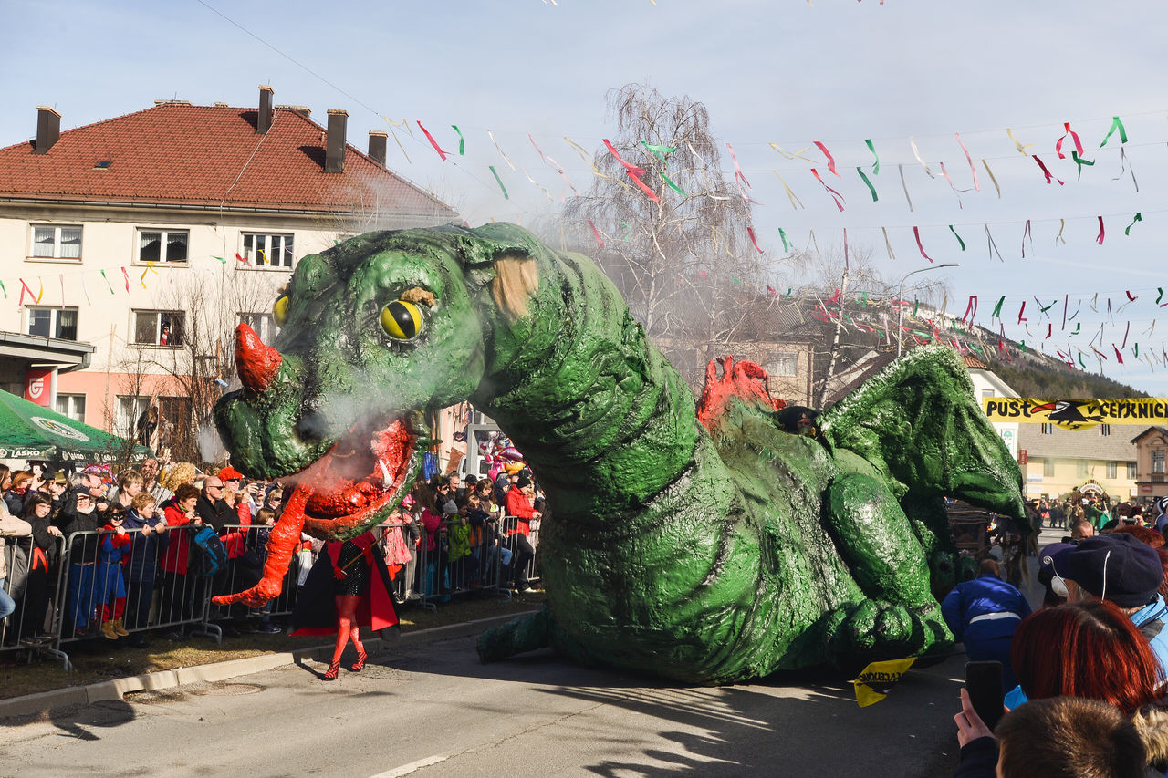 Carnival Carnival Crowds And Details Carnival Mask Carnival Parade Carnival Party Carnival Spirit Carnival Time Celebration Celebration Celebration Event Cerknica Chinese New Year Crowd Cultures Dragon Dragonfly Giant Dragon Mask Masks Masquarade Masque Masquerade Pust Slovenia Traditional Festival