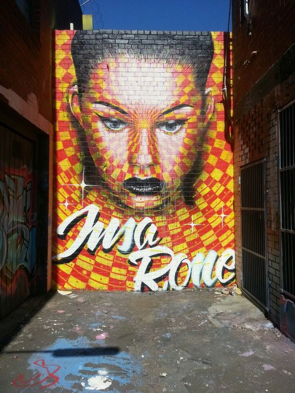 Graffiti Streetart Awesome Rone