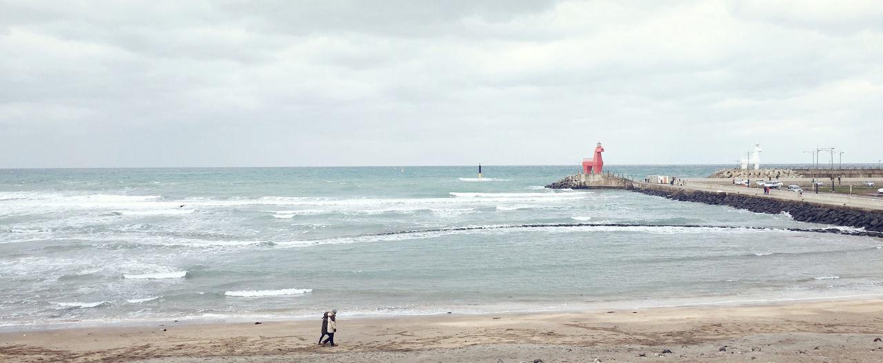 Beautiful stock photos of south korea, Beach, Cloud - Sky, Cloudy, Day