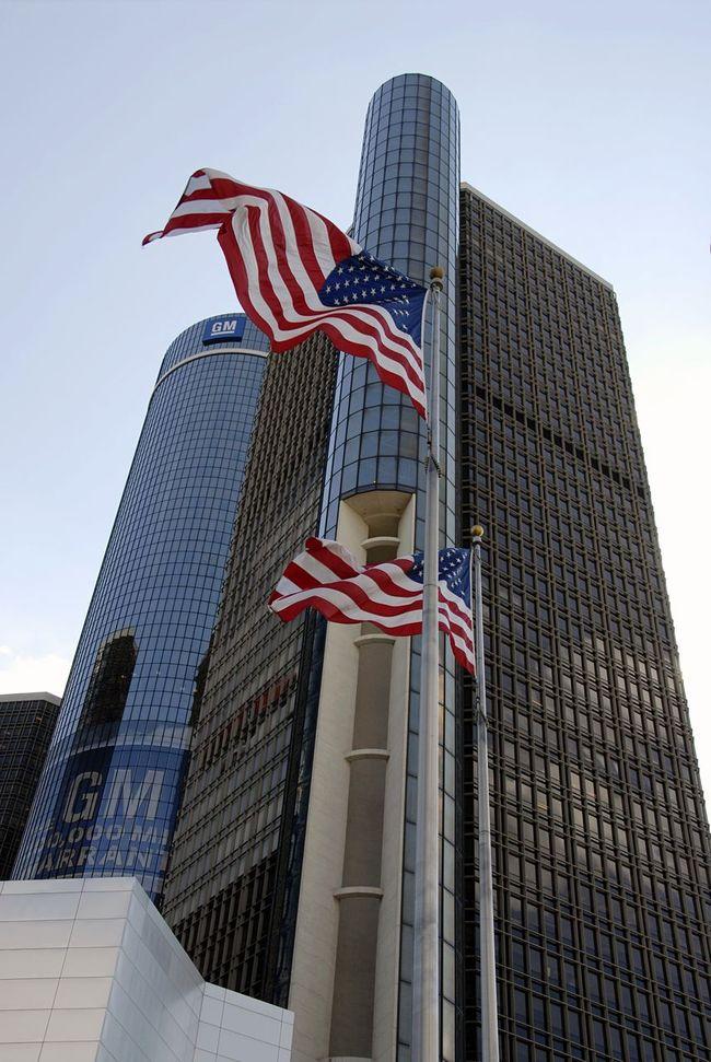 General Motors  Gm  Headquarters Detroit Michigan USA Car Manufacturer Industry