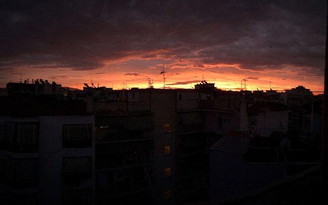 Morning Sky Good Morning Winter Larissa Dawn Feelings Nopeople Horizon