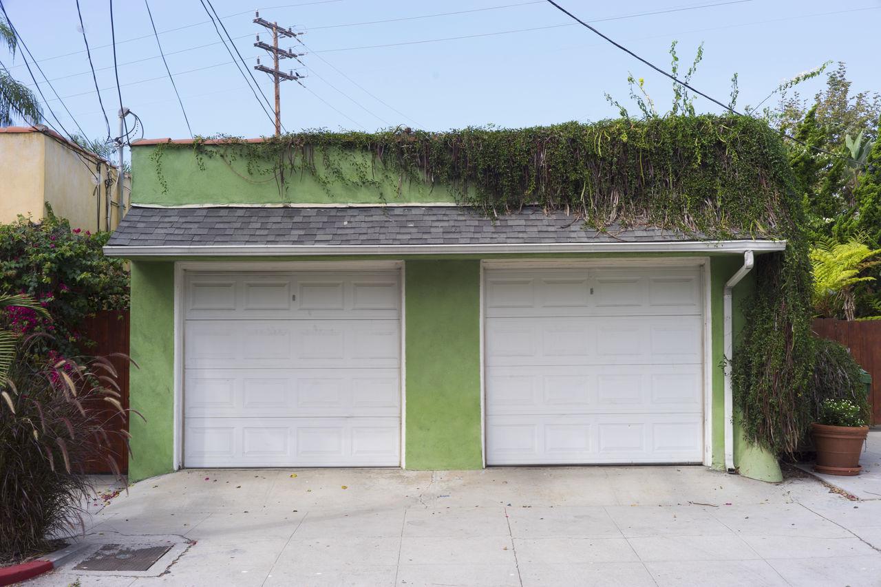 Architecture California Color Colorfull Garage Geometry Green Color Urban Venice