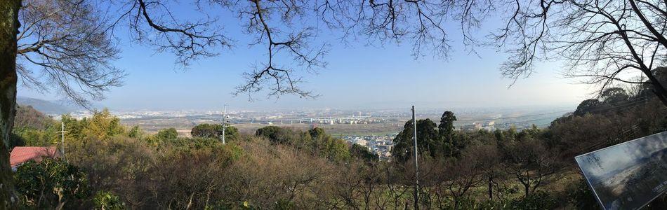 展望台からの眺め 京都 八幡 男山
