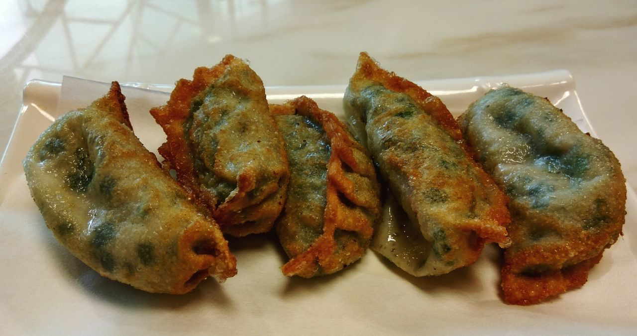 Chinese Dumplings Fried Dumplings Chinese Food Food Food Porn Cooked Fried Foodie Cuisine Food Photography Lunch Deep Fried  Hungry Cuisine_captures Chinese Cuisine Cookery Eating Out Plated Food On A Plate Taste Good Dishes Dish Serving Dish Taste Delicacy